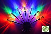 LED Wandlampe Wandleuchte Flurlampe 4 Farben bar Lampe Leuchte Stäbe grün blau 7
