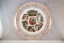 Vintage Unmarked Biblical Gardens Wisconsin Dells Wi Souvenir Plate
