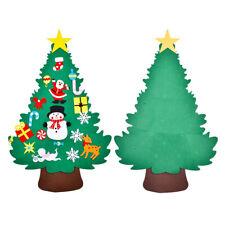 115cm Felt Christmas Tree with Ornaments Decor for Kids Children Xmas DIY Gift