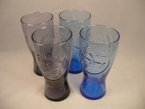 """Set: Four Retro McDonald""""s Glasses/Speedee & Crossed Arches"""