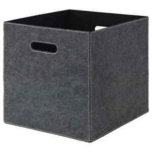 """BLÄDDRA Box with Handles, Easy to Pull, Newspapers to Clothes gray13x15x13 """""""