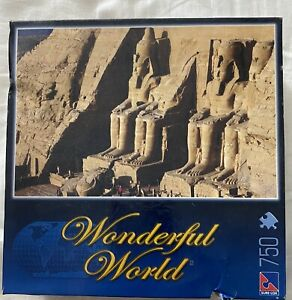 Wonderful World Temples Of Ramses II 750 pieces Jigsaw Puzzle sure-look