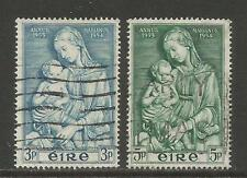 Ireland 1954 Marian Year--Attractive Art/Religion Topical (151-52) fine used