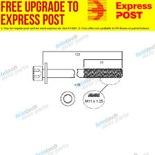 2013 For Renault Latitude X43 5ZV 5ZV.604 Head Bolt Set