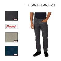 NEW! Tahari Men's Classic Fit Medium Rise Relaxed Hip Straight Leg Pants E21