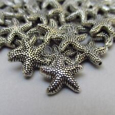 Starfish 14mm Antique Silver Plated Spacer Ocean Beads B2146 - 10, 20 Or 50PCs
