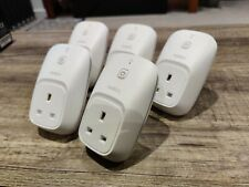 5 x Belkin WeMo Smart Home Wifi Plug Socket Switches. App for Android / iPhone.