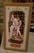"KW-210 2002 Grandeur Noel Collector's Edition 12"" Porcelain Angel Sea Shell NIB"