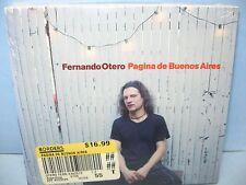 Fernando Otero PAGINA DE BUENOS AIRES, Nonesuch, NEW