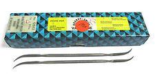 12 Grobet Swiss Vallorbe Präzisions Riffelfeilen L=170 SH-4 Nr.12843 Neu H16219