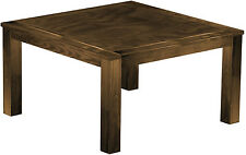 Esstisch Holz Pinie massiv 140x140 Eiche antik Küche kolonial Tisch Tische Hotel