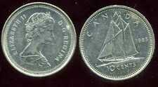 CANADA 10 cents  1985   ( bis )