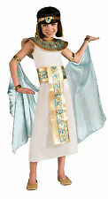 Girls Cleopatra Costume Queen Of The Nile Historical Costume Child Large 12-14