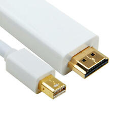 6FT Thunderbolt Mini Display Port to HDMI TV Cable Adapter for MacBook Pro iMac