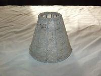 VINTAGE OLD HOUSE MINI BEADED LIGHT LAMP SHADE