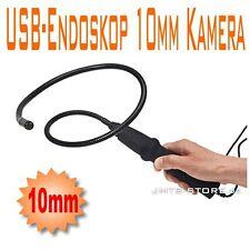 10mm Farb Endoskop Kamera Videoskop Borescope 4xLED +Version,Koffer,Spiegel