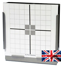 100 Air Rifle Shooting Paper Crosshair Targets 14cm Pistol Airsoft  (100gsm