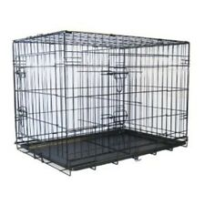 """Go Pet Club 48"""" Two Door Folding Metal Cage w/Divider MLD-48 Dog Furniter NEW"""