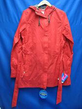 Columbia Women's Pardon My Trench Rain Jacket Red Large