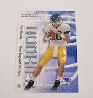 Tom Brady 2000 Fleer Tradition Glossy 352 Rookie RC New England Patriots Card