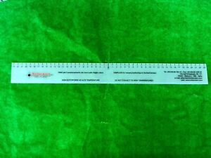OFFICIAL STILSCREEN TEMPLATE RULER (PLAYER AND ADULT MEASUREMENT)