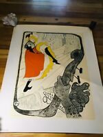 FRENCH TOULOUSE-LAUTREC JANE AVRIL LITHOGRAPH MUSEE TOULOUSE-LAUTREC ALBI STAMP