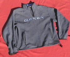 Gray Old Navy Zip Collar/Pockets Long-Sleeve Sweater Jacket Drawstring Bottoms