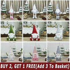 Deluxe Santa Gnomes Gonks Christmas Decorations Doll Xmas Gift UK