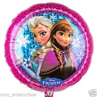 "17"" Disney Frozen Anna and Elsa Foil Birthday Party Balloon"