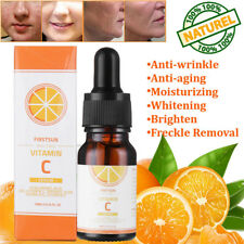 20 Vitamin C E Hyaluronic Acid Serum Skin Brightening Anti Aging Wrinkles TR