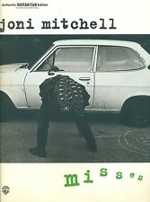 """""""JONI MITCHELL-MISSES"""" AUTHENTIC GUITAR-TAB/VOCAL MUSIC BOOK-BRAND NEW ON SALE!!"""