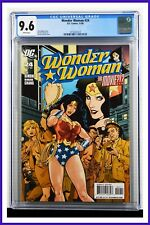 Wonder Woman #24 CGC Graded 9.6 DC November 2008 White Pages Comic Book.