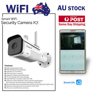 Smart WIFI Home Automation 2MP 1080Hd 2 Way Talk I/R Security Camera K7