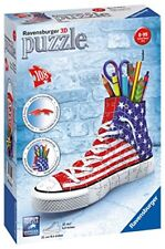 Ravensburger Italy 12549 - 3d Puzzle Sneaker Portapenne Giocattolo (o4d)
