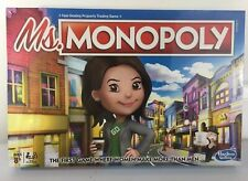 Ms. Monopoly Board Game Hasbro NEW SEALED RARE IN HAND NOW Fast SHIPPING