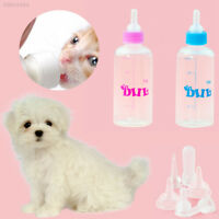 6Pcs/1Set Feeding Bottle Kit Kitten Baby Pet Animals Dog Cat Pets Whelping