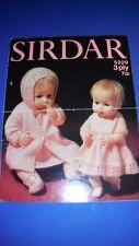 Sirdar Doll Clothing Knitting Pattern 5209