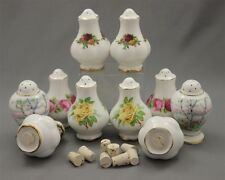 8 Replacement Bungs Stoppers Corks for Royal Albert Salt & Pepper Shaker Sets