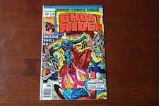 Ghost Rider 30 VF Bronze Age comic featuring Doctor Strange!
