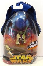 STAR WARS  REVENGE OF THE SITH FIRING CANNON - YODA