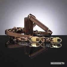 Bellomania Levin Leopard Führleine mit verstellbarem Polstergriff 190.0/2.0 cm