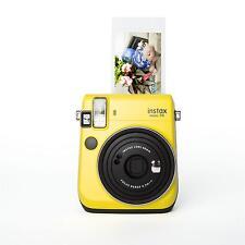 Fuji Instax Mini 70 gelb Sofortbildkamera Instant Hochzeitskamera Sofortbild