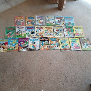 23 GLADSTONE COMICS 1980'S WALT DISNEY DONALD DUCK MICKEY MOUSE UNCLE SCROOGE
