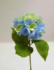 Hortensie Seidenblume Kunstblume Kunstpflanze 70 cm  orange N-89383-5 F17