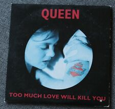Queen, too much love will kill you / spread your wings, CD single