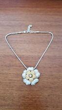 BRIGHTON Retro Garden Flower SWAROVSKI Crystal Necklace