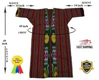 Vintage Adras Uzbek Beautiful Jacket Original Robe Dress SALE WAS $125.00