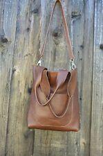 CARTERA San Francisco Leather Shoulder messenger CrossBody Handbag Fossil - chic
