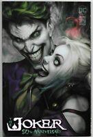 DC Comics Joker 80th Anniversary Special #1 Comic Book Trade Artgerm Variant NM