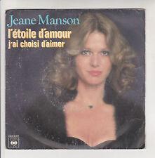 Jeane MANSON Vinyle 45T COMME UN BATEAU IVRE - J'AI TOUJOURS ECOUTE MON COEUR